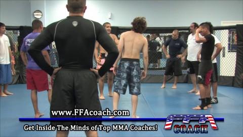[04-28-14] Forehead Forearm Push Pull Thai Clinch Counter – Part 3