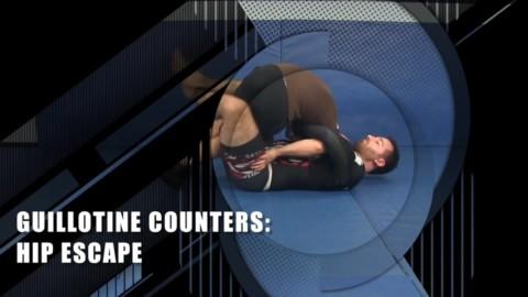 Guillotine Counters Hip Escape