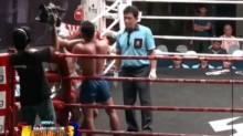 Muay Thai elbows