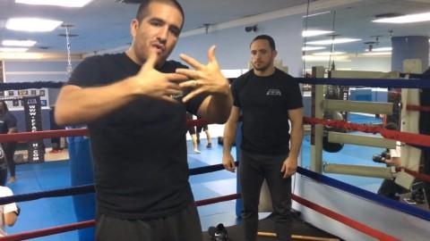 Boxing Ring Takedown