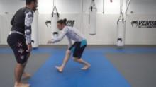 Double Leg Sweeping Finish