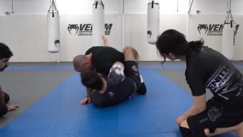 Reverse Kimura Triangle Setup