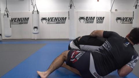Hip Bump to Reverse Kimura Arm Crusher Back Take