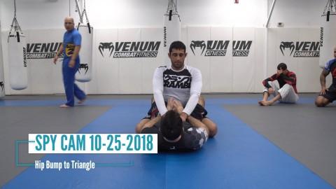 Hip Bump to Triangle
