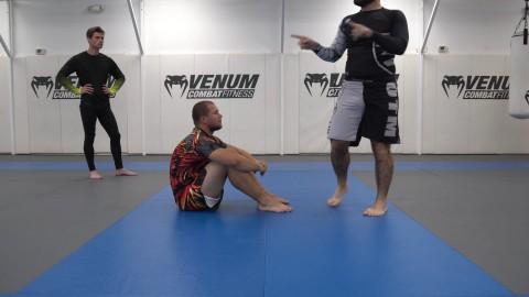 Knee Cut vs Sitting Guard