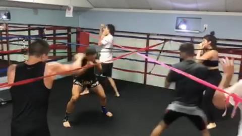 Striking drills