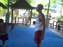 Thai Clinch Counter Take Downs