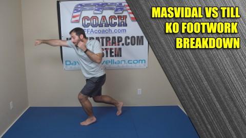 Jorge Masvidal vs Darren Till Footwork Breakdown