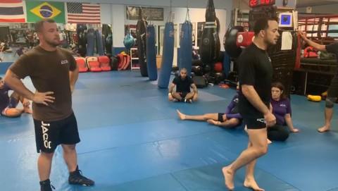 Single leg blast