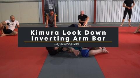 37 – Kimura Lock Down Inverting Arm Bar