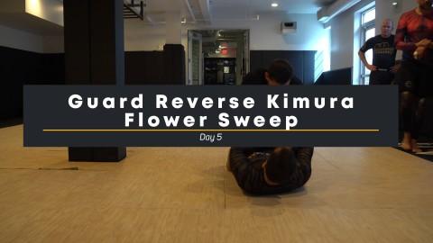 54 – Reverse Kimura Flower Sweep