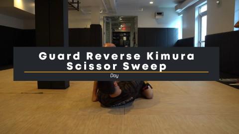 55 – Reverse Kimura Scissor Sweep