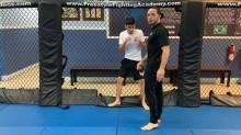 Cage Shots 02 - Double Leg Ankle Pick