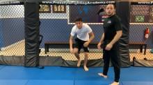 Cage Shots 04 - Double Leg Hip Collapse