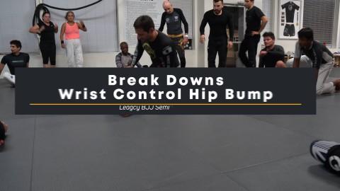 Wrist Control Hip Bump Half Nelson