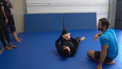 76 – Half Guard Rolling Kimura Trap