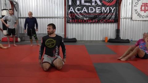 Day 4 Evening – Knee Bump Inverted Kimura
